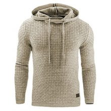 Men's Warm Plaid Hoodies