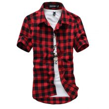 Men's Plaid Summer Shirt