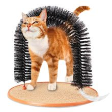Self-Grooming Arch for Cats