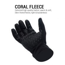 Waterproof Touch Screen Unisex Silicone Cycling Gloves