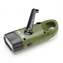 Mini Rechargeable Solar Flashlight