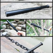 Multifunctional LED Flashlight with Self Defense Bat