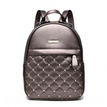 Women's Compact Leather Backpack