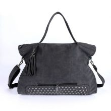 Fashion Vintage Tasseled Leather Women's Shoulder Bag