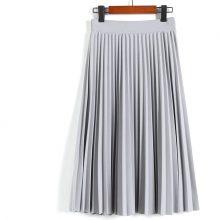 Women's Pleated Midi Skirt