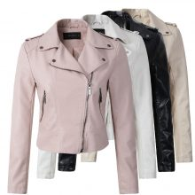 Women's Stylish Leather Jacket