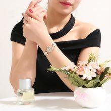 Women's Floral Bracelet Watch