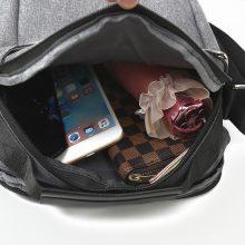 Men's Ultralight Canvas Crossbody Bag