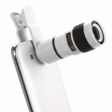 Universal Telescopic Focusing Clip-On Smartphone Camera Lens