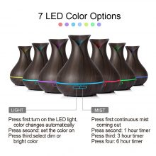 400 ml Aroma Essential Oil Diffuser and Humidifier