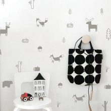Nordic Style Vinyl Forest Animals Wall Stickers