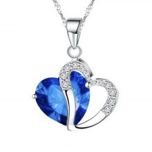 Fashion Necklace with Heart Pendant